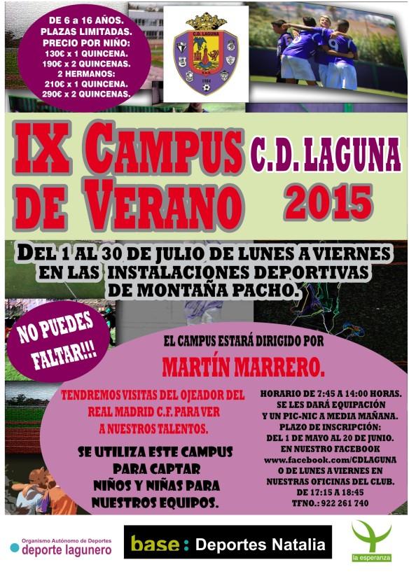 CARTEL CAMPUS LAGUNA VERANO 20-4-15