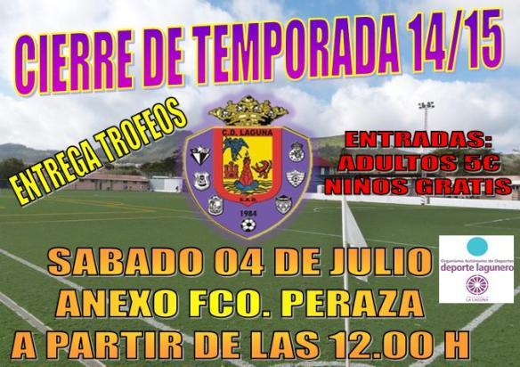 CIERRE DE TEMPORADA 14-15