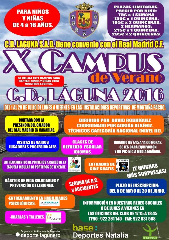 CARTEL CAMPUS LAGUNA VERANO 28-4-16